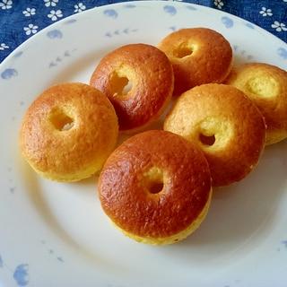 ホットケーキミックスで作る焼きドーナツ