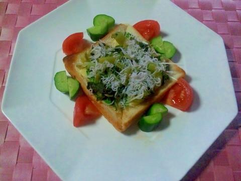 ヨウサマの『タニタ式』ダイエット食しらすのトースト