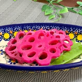☆花れんこん ゆかり漬け☆ 綺麗なピンク!