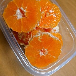 食べやすいみかんの切り方