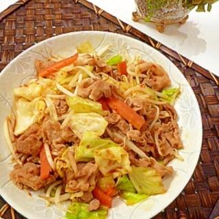 甜麺醤を焼き肉のタレで代用!なんちゃって回鍋肉。