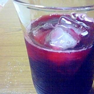 疲れさよなら!ブルーベリージュース