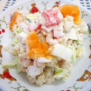 食感が楽しい☆オートミールサラダ