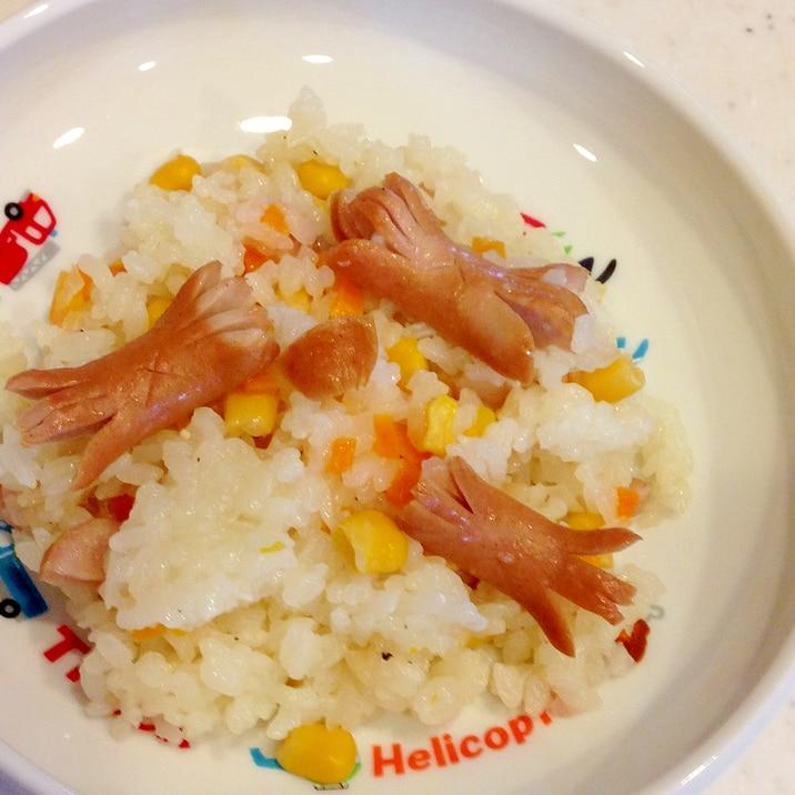 とりわけ幼児食☆簡単炊飯器ピラフ