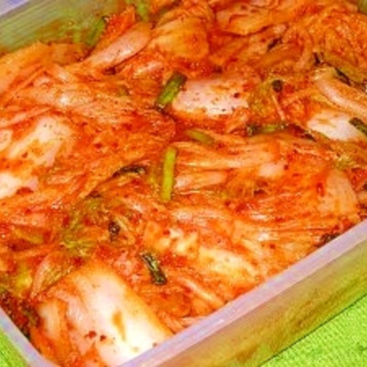 の 白菜 作り方 キムチ