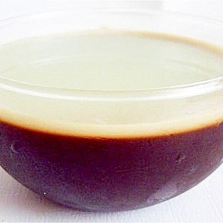 練乳とろとろプルプル コーヒーゼリー