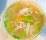 生姜のレンコンスープ