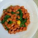 青菜カラシ納豆