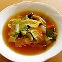 お鍋に材料を入れて煮るだけ!野菜たっぷりスープ