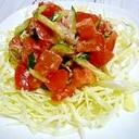 トマトの塩だれサラダ