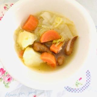 美味しいポトフ東の丸ごと鍋