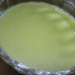ヴィシソワーズ風★枝豆の冷製スープ。