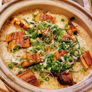 うなぎの土鍋ご飯