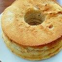 イチゴジャムシフォンケーキ