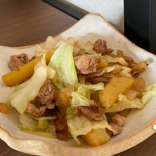 ☆時短一品☆豚肉と野菜を食べる!お手軽野菜炒め