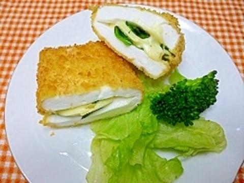 はんぺんのチーズサンドフライ