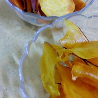 家族に人気☆簡単さつま芋チップス