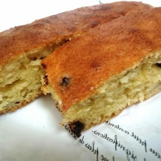 型もバターも不要☆オーブントースターで簡単ケーキ