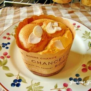 米粉で♪かぼちゃのシフォンケーキ