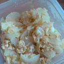 シンプル!新玉ねぎと卵の炒め物