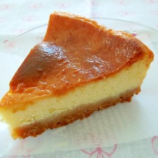 サワークリームでふんわり♪ベイクドチーズケーキ
