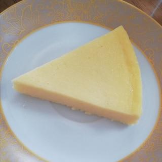 スライスチーズで簡単チーズケーキ♪