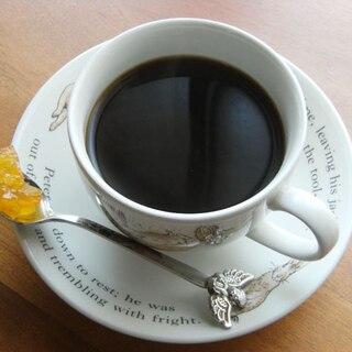 美味しくインスタントコーヒー♪(ママレードと煮る)