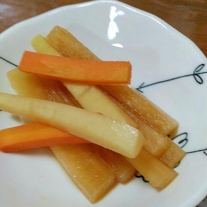 大根 ポリポリ 料理上手な母から届いた「スティック野菜のポリポリ」に再現者続々 「ホントすごい簡単なのにうめえ…うめえよ…」