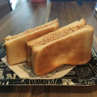 クセになる、ツナチーズトースト