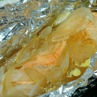 オーブンに任せて!鮭のホイル焼き