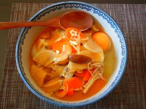 根野菜のスンドゥブ