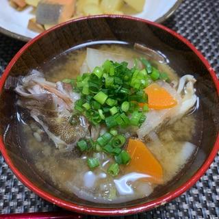 カサゴの味噌汁☆