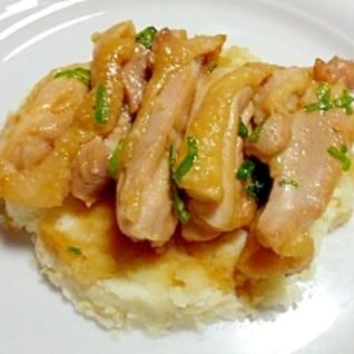 ポテトと一緒に☆鶏肉の照り焼き風