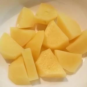 電子レンジde塩バターじゃが