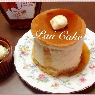 ふわふわ厚焼きパンケーキ ♪