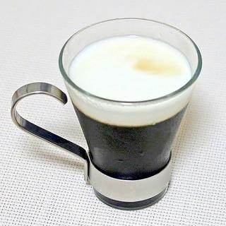 エスプレッソでコーヒーゼリー☆混ぜて冷やすだけ