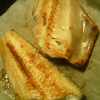 フライパンde焼き魚