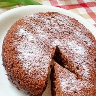 炊飯器+ホットケーキミックスで!お手軽ココアケーキ