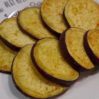 フライパンで簡単♪さつまいものバター焼き