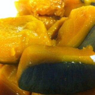 お砂糖なしで美味しく柔らか!かぼちゃの煮物