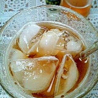 アイス☆レモンジンジャーほうじ茶♪