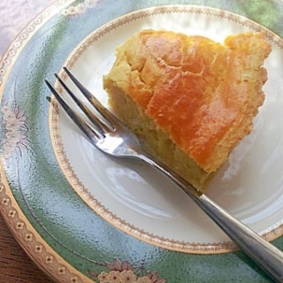 さつまいもが手に入ったら、スイートポテトケーキ♪