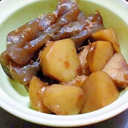 里芋とコンニャクの土佐煮