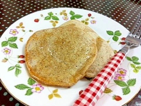 全粒粉で作るヘルシーパンケーキ