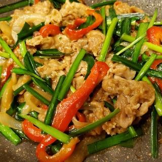 ご飯が進む☆プルコギ風豚肉と野菜炒めモノ