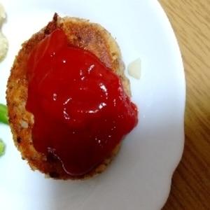 妊婦食☆栄養満点!サバ缶の簡単ハンバーグ
