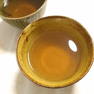 どくだみ茶のゼリー