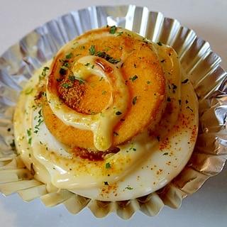 お弁当 ❤ゆで卵のマヨカレー焼き❤