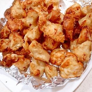 鶏むね肉の小さな一口サイズ唐揚げ(ノンフライヤー)