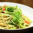 野菜のジャポネオーリオ(スパゲティ)